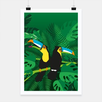Tropical toucans Poster thumbnail image