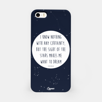 Miniatur CONSTELLATIONS QUOTE iPhone Case, Live Heroes