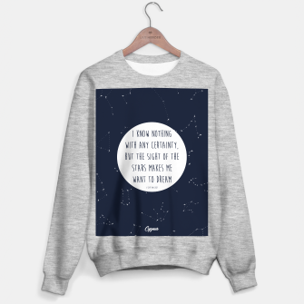 Miniatur CONSTELLATIONS QUOTE by SIZ Sweater regular, Live Heroes