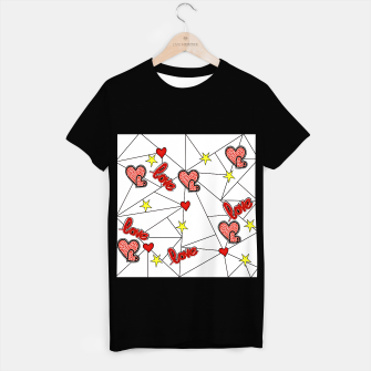 Triangle love affairs T-Shirt regulär Bild der Miniatur