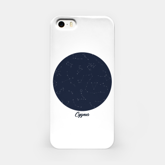 Miniatur CONSTELLATIONS CYGNUS by SIZ iPhone Case, Live Heroes