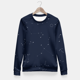 Miniatur CONSTELLATIONS by SIZ Fitted Waist Sweater, Live Heroes