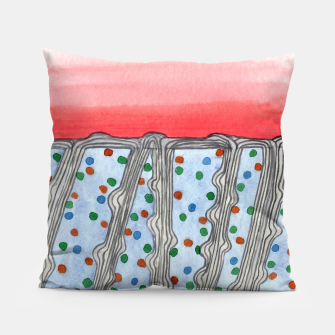 Miniaturka Color Uptake  Pillow, Live Heroes