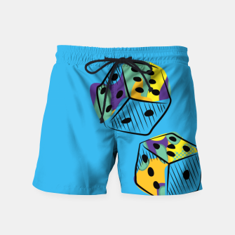 Thumbnail image of Crazy Camo Swim Shorts, Live Heroes