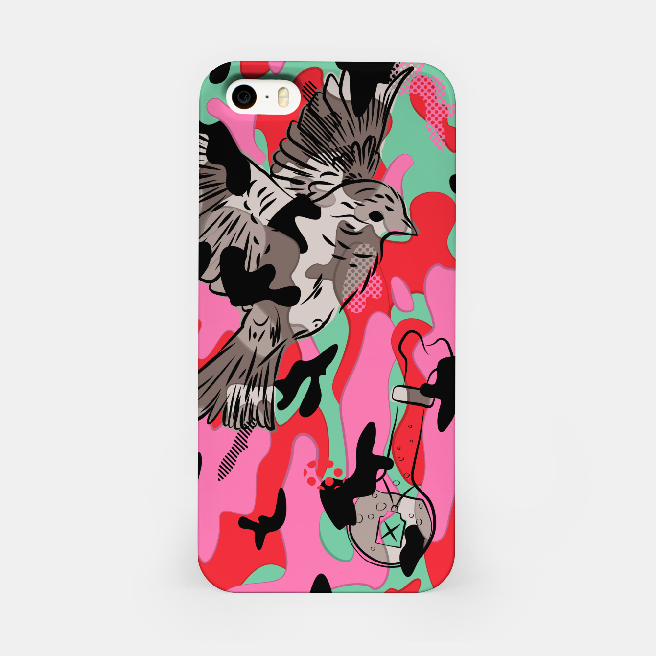 Image of Crazy Camo iPhone Case - Live Heroes