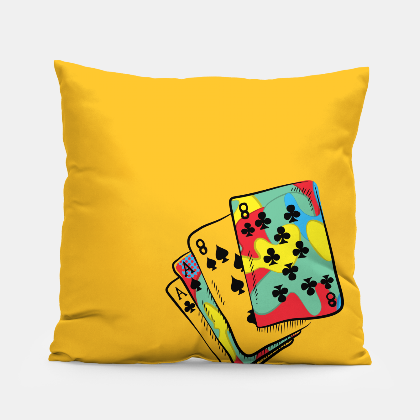 Image of Crazy Camo Pillow - Live Heroes