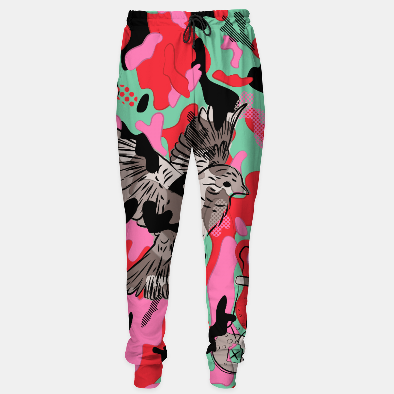 Image of Crazy Camo Sweatpants - Live Heroes