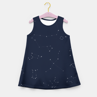 Miniatur CONSTELLATIONS by SIZ Girl's Summer Dress, Live Heroes
