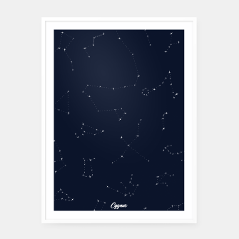 Miniatur CONSTELLATIONS by SIZ Framed poster, Live Heroes