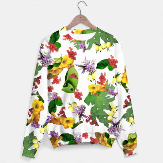 Miniatur African Flowers Sweater, Live Heroes