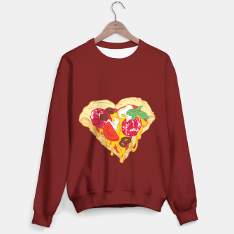 Thumbnail image of Pizza is my true Valentine Sweater regular, Live Heroes