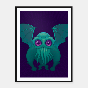 Miniatur Cthulhu Framed poster, Live Heroes