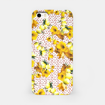 Miniatur yellow flowers iPhone Case, Live Heroes