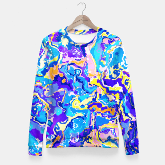 Miniaturka Colorful Waves Fitted Waist Sweater, Live Heroes