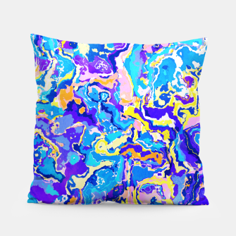 Miniaturka Colorful Waves Pillow, Live Heroes