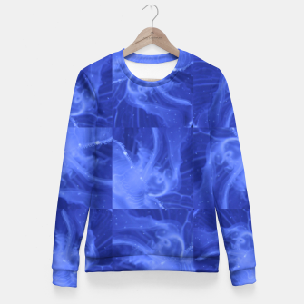 Thumbnail image of jellyfishes structure Fitted Waist Sweater, Live Heroes