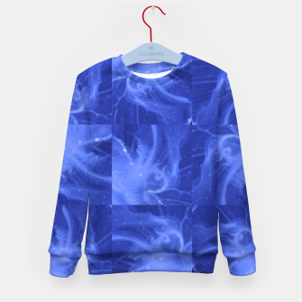 Thumbnail image of jellyfishes structure Kid's Sweater, Live Heroes