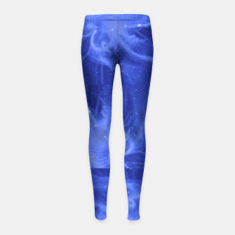 Thumbnail image of jellyfishes structure Girl's Leggings, Live Heroes