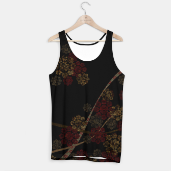 Thumbnail image of Japanese emblem art cherry blossoms black red Tank Top, Live Heroes
