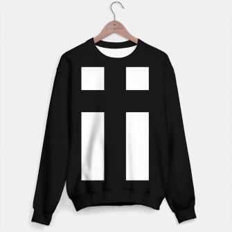 Thumbnail image of Cross_Sweater_Black, Live Heroes