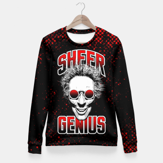Thumbnail image of Sheer Genius Fitted Waist Sweater, Live Heroes