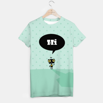 Thumbnail image of Hi little robot –  T-shirt, Live Heroes