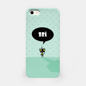 Thumbnail image of Hi little robot –  iPhone Case, Live Heroes
