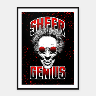 Thumbnail image of Sheer Genius Framed poster, Live Heroes