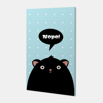 Nope monster – Canvas thumbnail image