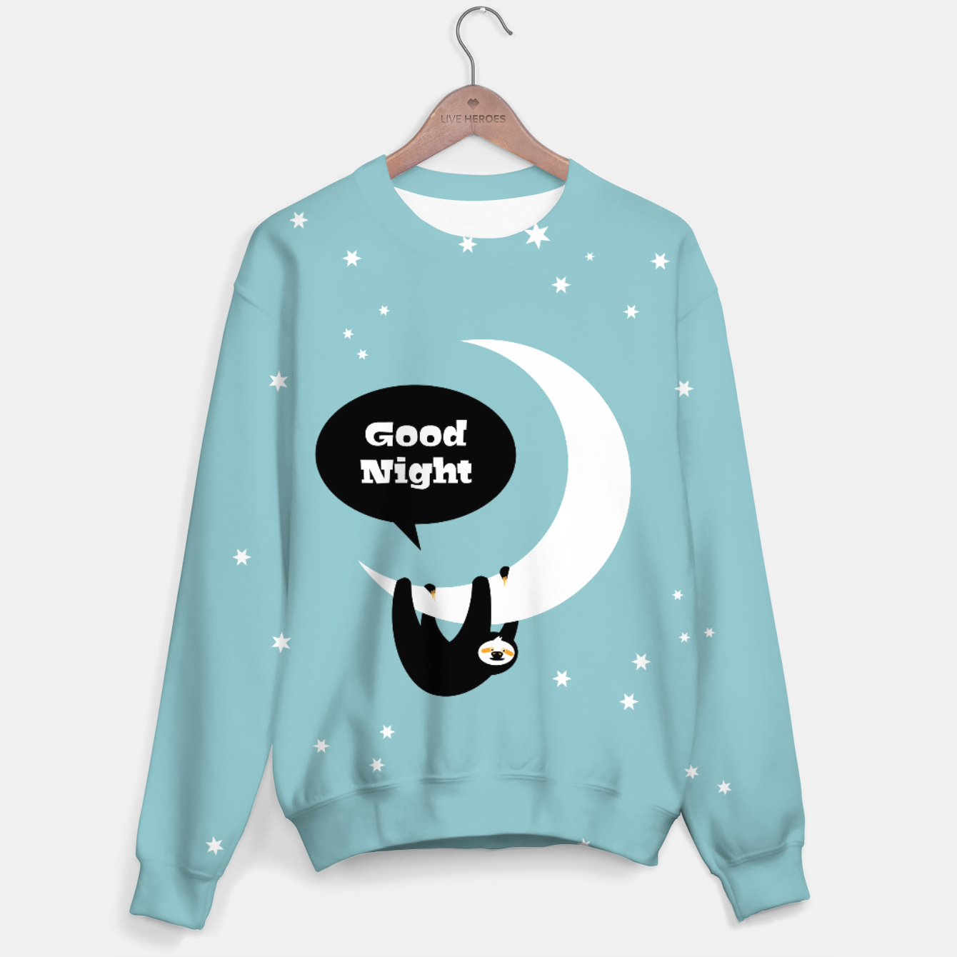 Image of Good night sloth – Sweater - Live Heroes