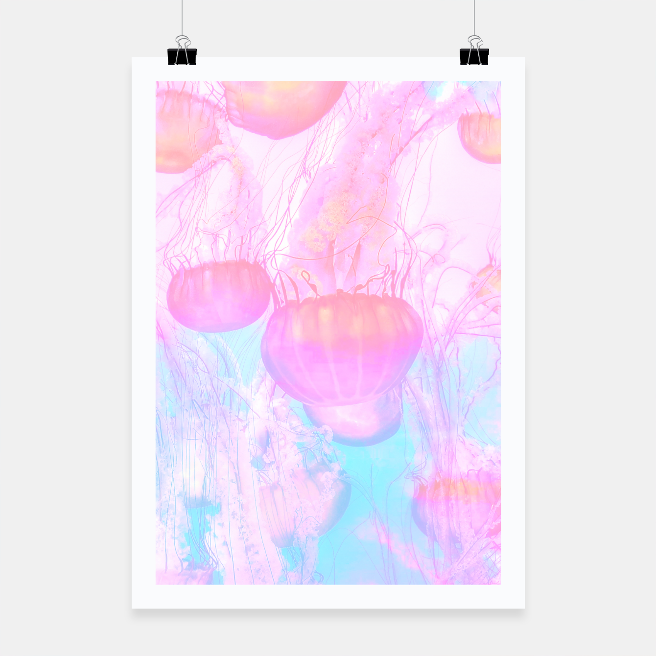 Image of ETHEREAL Poster - Live Heroes