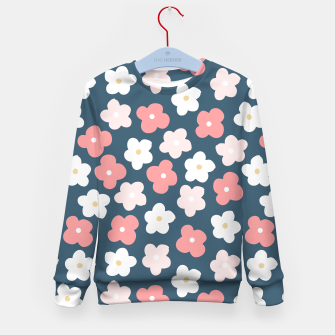 Thumbnail image of flower pattern Kid's Sweater, Live Heroes