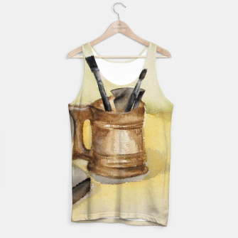 Thumbnail image of painting workshop Tank Top, Live Heroes