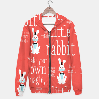 Thumbnail image of Make your own magic, little rabbit –  Hoodie, Live Heroes