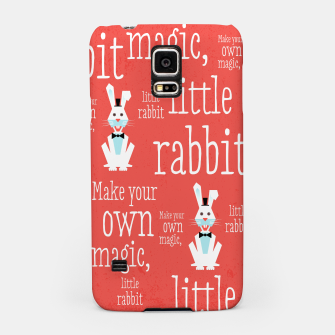 Thumbnail image of Make your own magic, little rabbit –  Samsung Case, Live Heroes