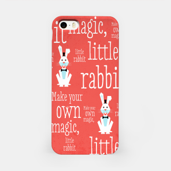 Thumbnail image of Make your own magic, little rabbit –  iPhone Case, Live Heroes