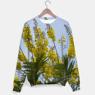 Thumbnail image of Yellow flowers Sweater, Live Heroes