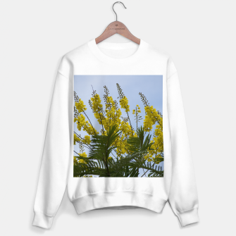 Thumbnail image of Yellow flowers Sweater regular, Live Heroes