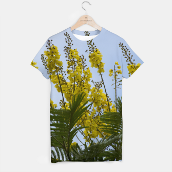 Thumbnail image of Yellow flowers T-shirt, Live Heroes