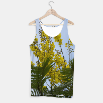 Thumbnail image of Yellow flowers Tank Top, Live Heroes