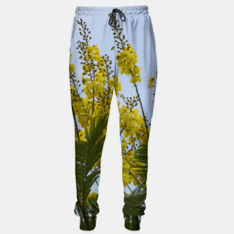 Thumbnail image of Yellow flowers Sweatpants, Live Heroes