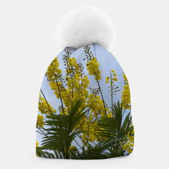 Thumbnail image of Yellow flowers Beanie, Live Heroes