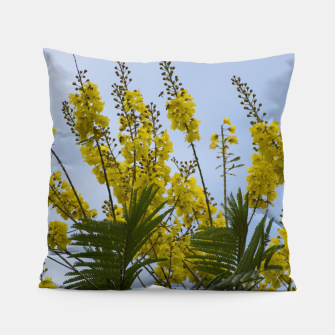 Thumbnail image of Yellow flowers Pillow, Live Heroes