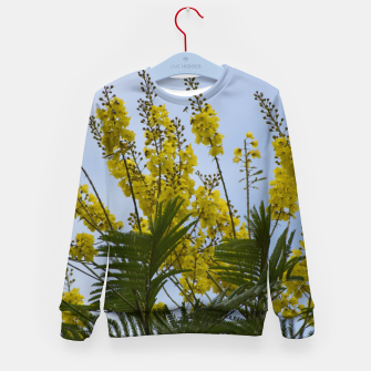 Thumbnail image of Yellow flowers Kid's Sweater, Live Heroes