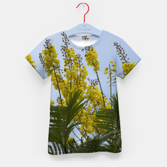 Thumbnail image of Yellow flowers Kid's T-shirt, Live Heroes