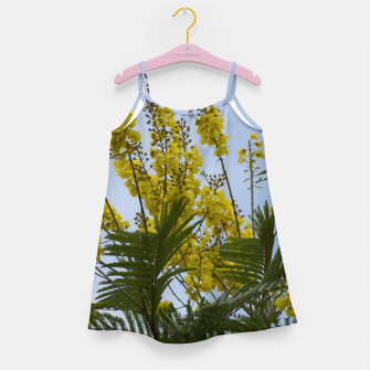 Thumbnail image of Yellow flowers Girl's Dress, Live Heroes