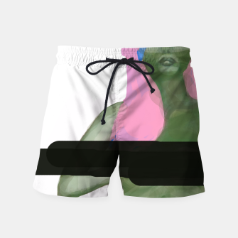 Thumbnail image of green girl censored pink white, Live Heroes