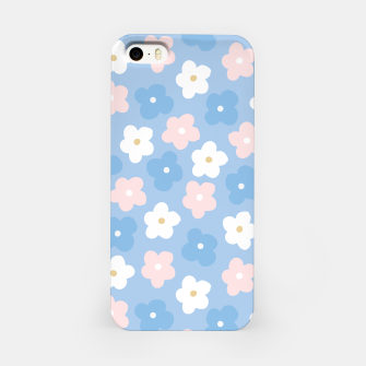 Thumbnail image of flower pattern (2) iPhone Case, Live Heroes