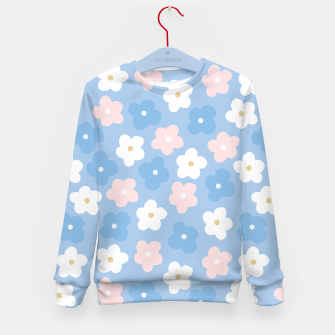 Thumbnail image of flower pattern (2) Kid's Sweater, Live Heroes
