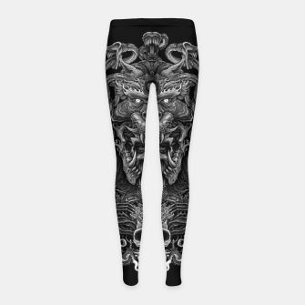 Thumbnail image of Winya No. 129 Girl's Leggings, Live Heroes